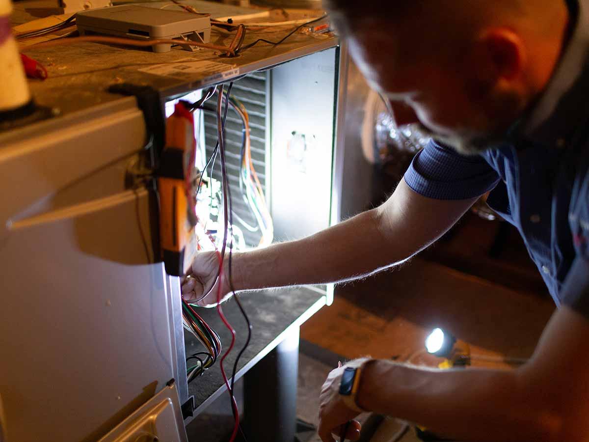 routine furnace maintenance